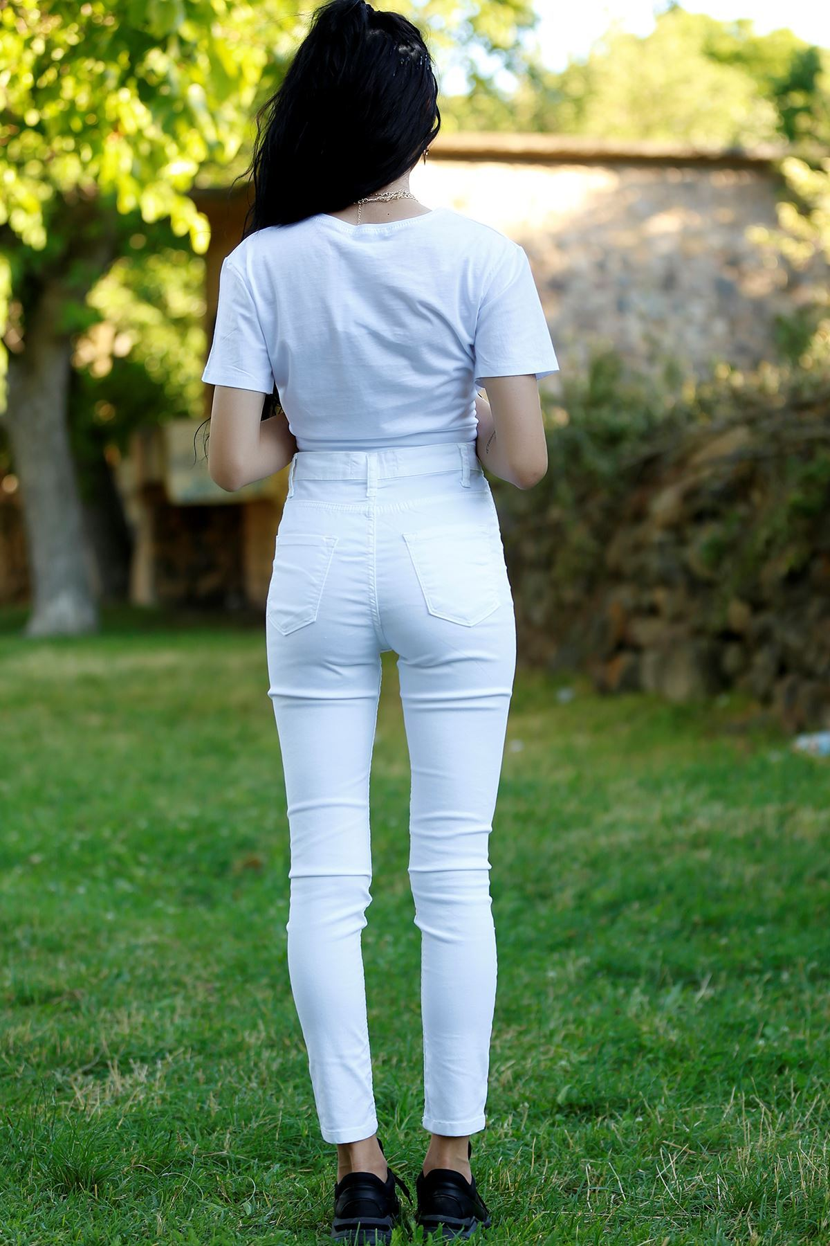 Dar Pantolon Beyaz - 2347.925. - k.p