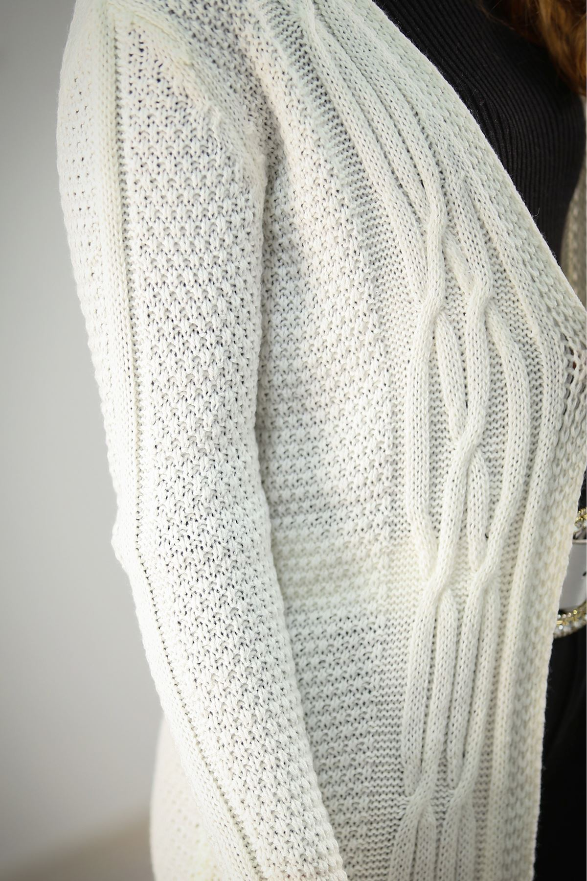 Saç Örgü Triko Beyaz - 4559.1062.