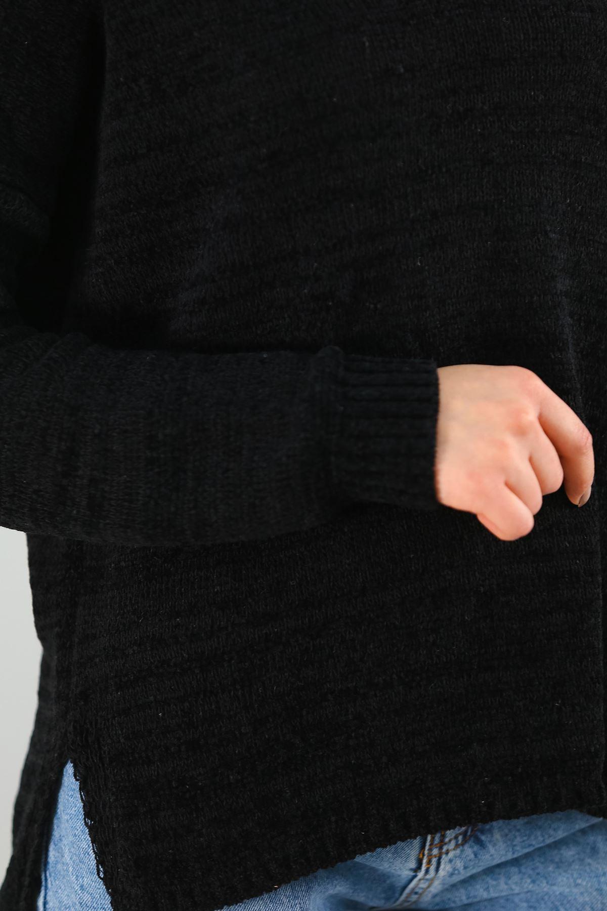 Şönil Kadife Triko Siyah - 4601.1060.