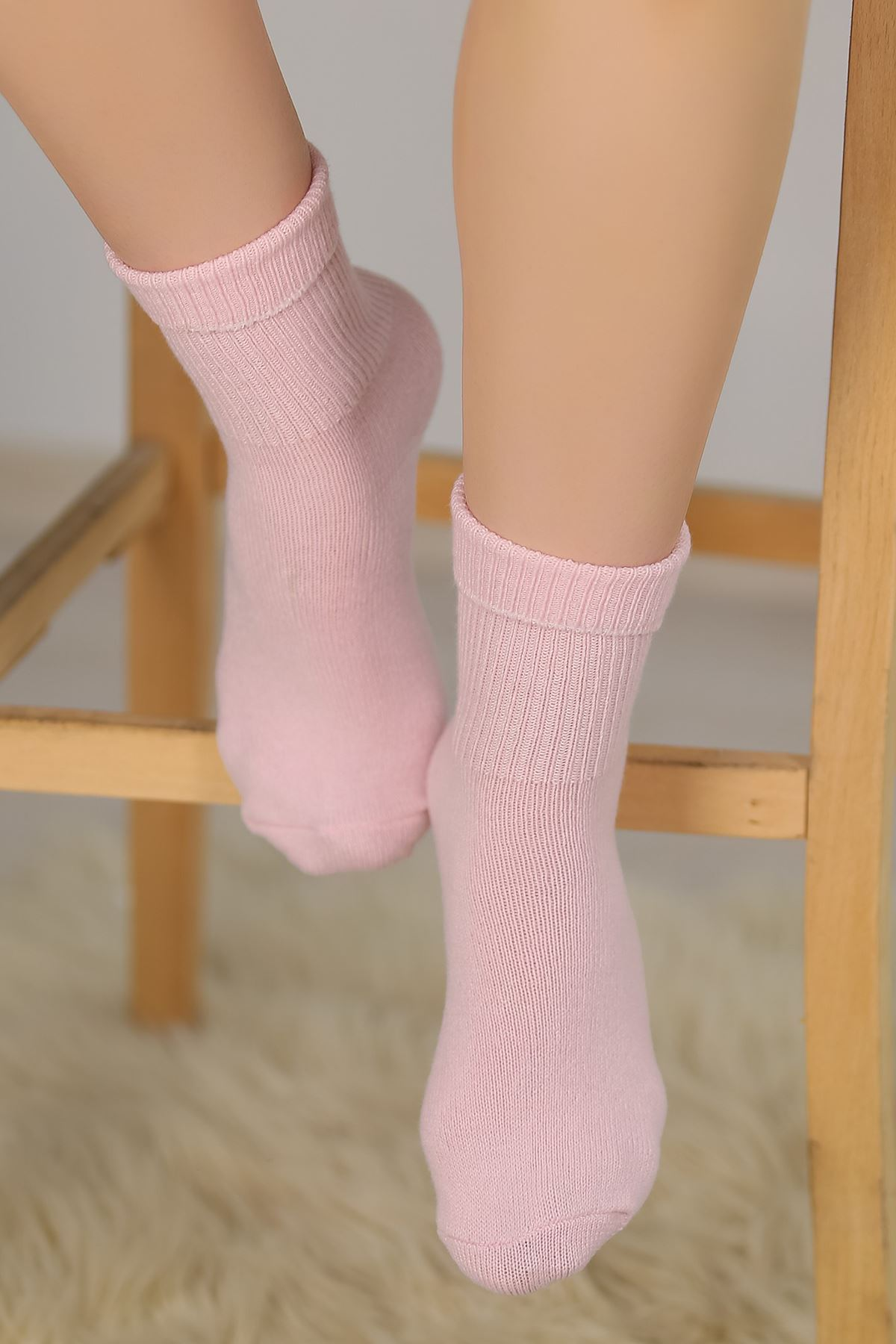 Bayan Bot Çorabı Pembe - 48100.1114.
