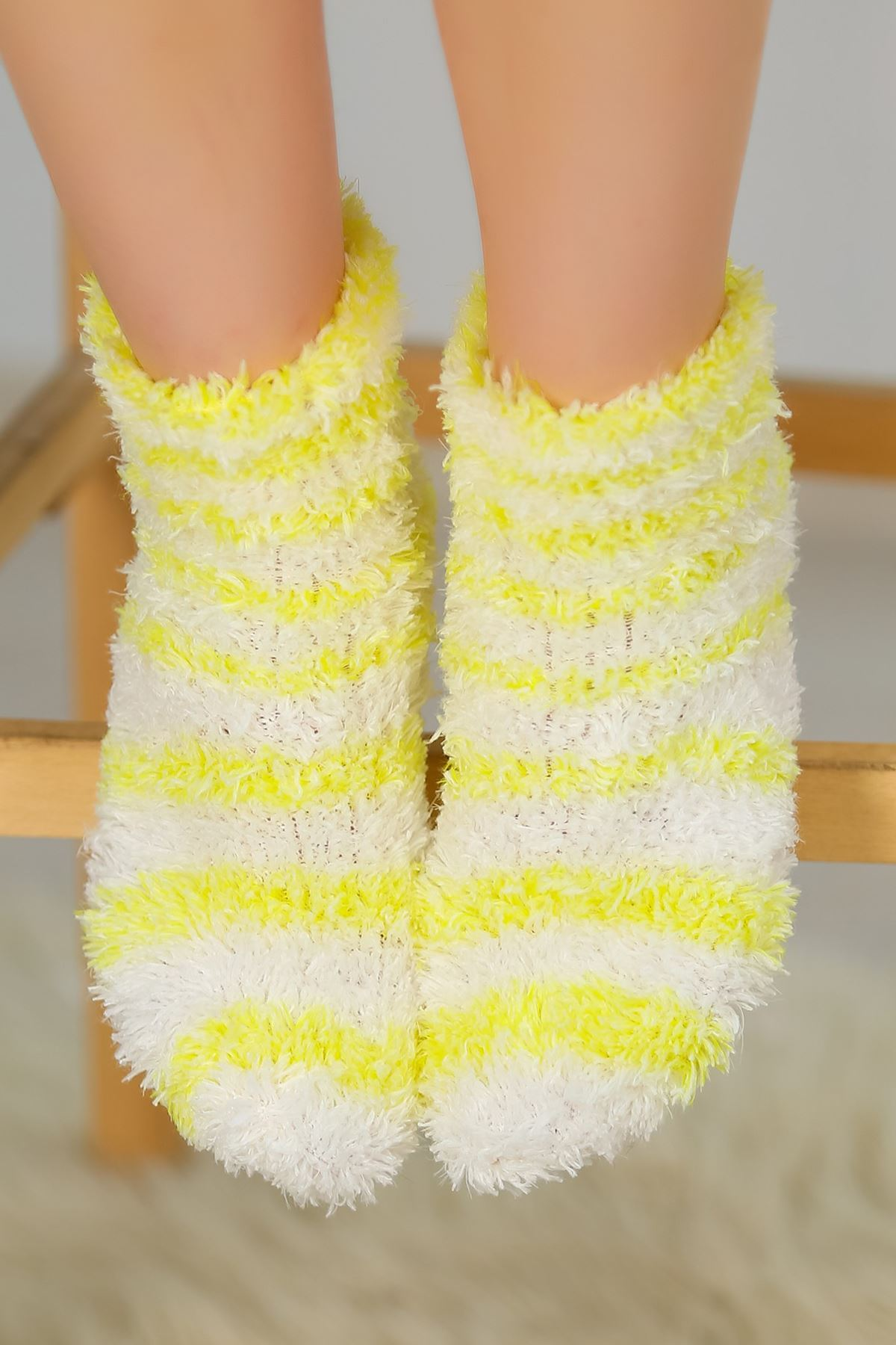 Peluş Çorap Sarı - 30850.1114.