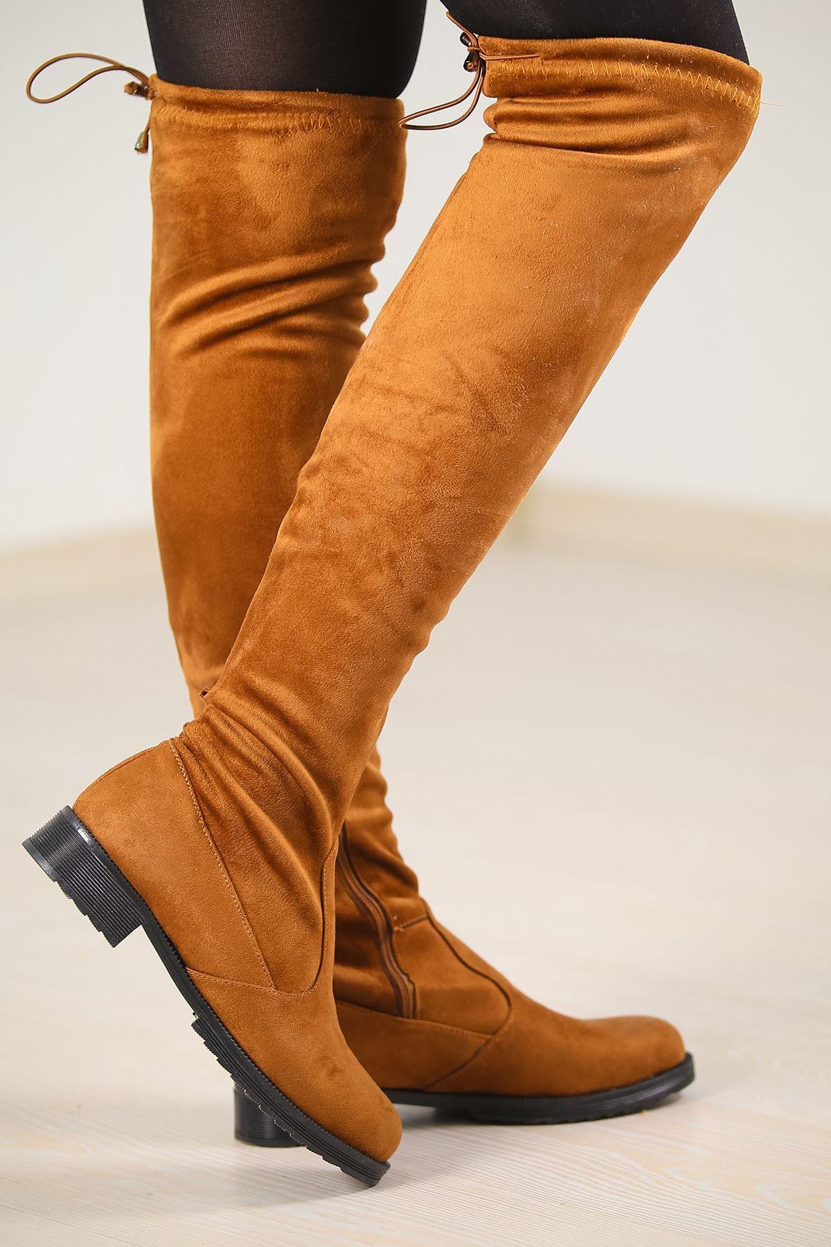 Uzun Çorap Çizme Taba - 4579.264.